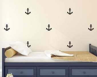 Anchor Wall Decal - Nursery Decal - Kids Wall Sticker Pattern | PP122