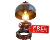 Etsy gifts lamps Pipe lamps for sale Industrial lamp Edison lights Retro industrial lighting Plumbing pipe lamp Modern bedroom Urban lamps