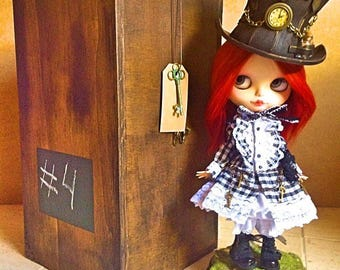 Carry Case Steampunk for Blythe