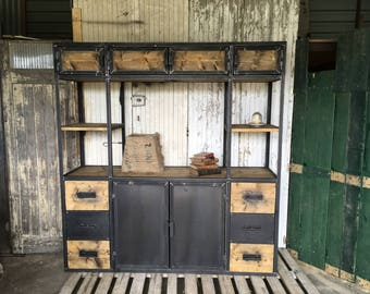 Great industrial furniture library
