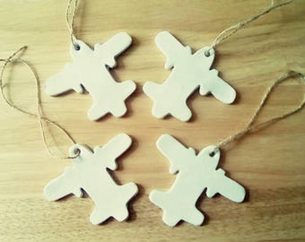 Aeroplane Clay Shapes To Decorate