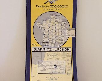 Michelin map 1955