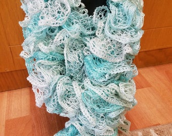 Teal/Turquoise Scarf