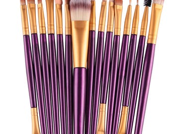 15pcs Makeup brusheS/Foundation Cosmetic Make up brush set