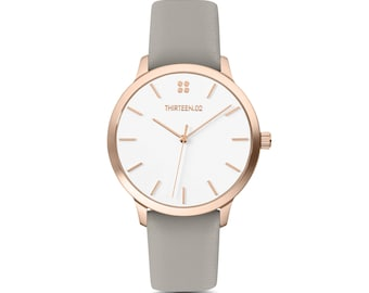 Womens Watch Rose Gold, Minimalist Watch Women, Rose Gold Watches for Women, Ladies Watch Rose Gold, Mom Birthday Gift Mom Gift from Son