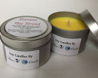 Banana Nut Bread 4oz Soy Candle