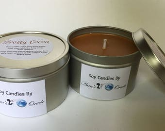 Frosty Cocoa 8oz Container Candle
