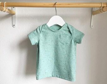 Mint Baby T-Shirt, Heather