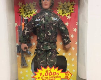 Hasbro GI Joe Hall Of Fame Battle Command Electronic Duke, Sealed, 1992!