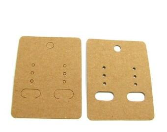 50 earrings DV01 cardboard supports