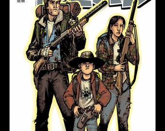 The Walking Dead Comic Cover