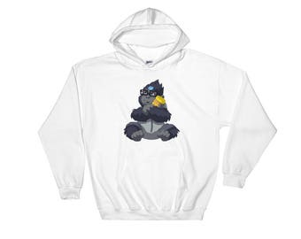 Baby Winston Overwatch inspired Hooded Sweatshirt