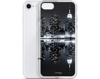 iPhone Case Cover, iPhone 7/8,  iPhone X, iPhone 6/6s, 6 Plus, 7 Plus/ 8 Plus, New York, Black and White