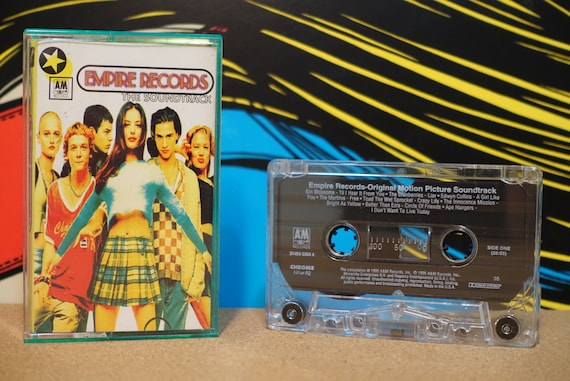 Empire Records (Motion Picture Soundtrack) by Various Artists Vintage Cassette Tape