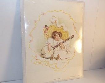 HOT DEAL Ye Summer Girl* 1982 Decor Prints, Noel, Mo. 64854 D-149