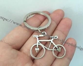 Bike keychain, Bike gifts key ring