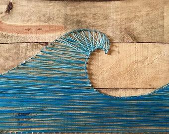 Wave String Art