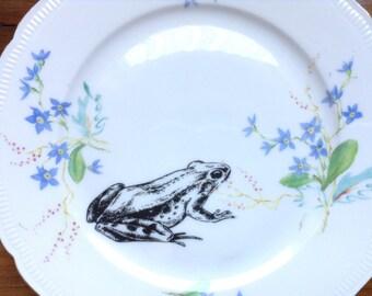 Frog Vintage side Plate