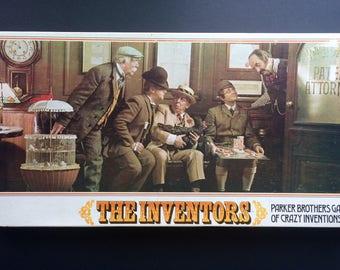 The Inventors vintage board game, 1974