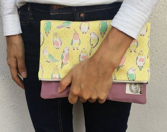 Japanese porrot clutch