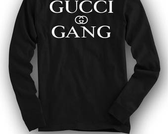 Gucci Gang LS T-Shirt(black)