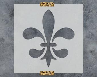 Fleur De Lis Stencil - Reusable DIY Craft Stencils of Fleur De Lis Patterns