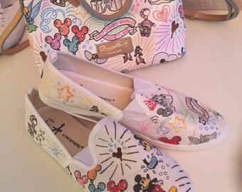Disney Dooney and Bourke shoes