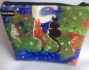 "POCHETTE ""Cats to the Moon""-cats-gattorosso"