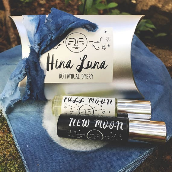 Full Moon + New Moon Anointing Essential Oil Rollers Set