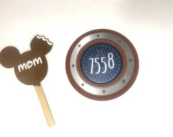 Disney Cruise Door Magnet Mickey Ice Cream Bars Decoration or Fish Extender Gift  Mickey Mouse