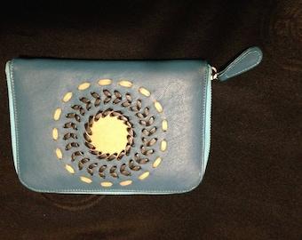 handmade leather purse/wallet