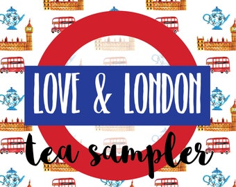 "TEA SAMPLER - July ""Love and London"" HootLoot Book Box"