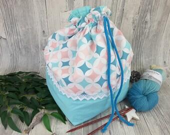 Knitting bag / spider bag (large) - 11.