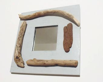 Square mirror Driftwood - your choice - wall decor seaside