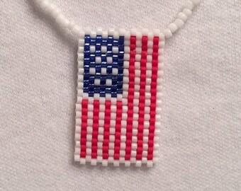 Show Your Colors Flag Necklace