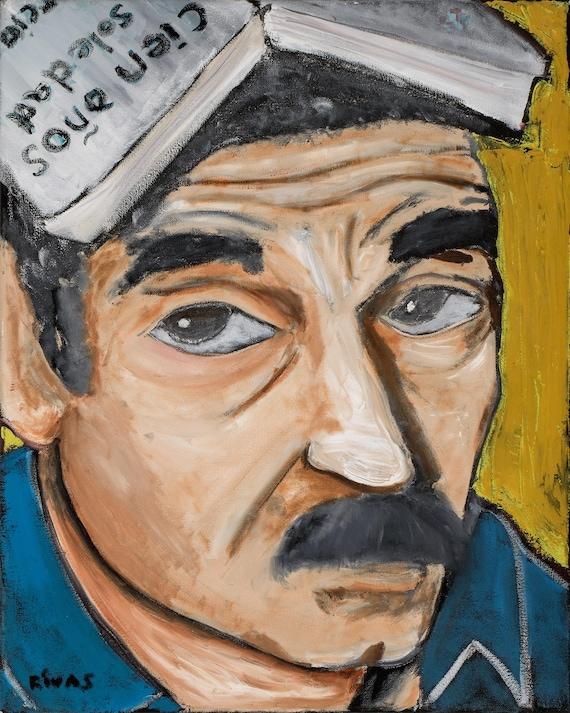 Gabriel Garcia Marquez--8x10 Hand-Numbered Print