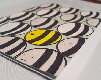 Special Bee Handmade Greetings Card