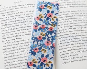 Rifle Paper Co. Blue Floral Bookmark