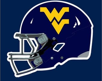 West Virginia University Decal | WVU Mountaineers Sticker | WVU Decal | Go Mountaineers
