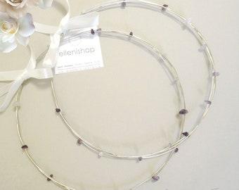 STEFANA IOLE, handmade summer wedding crowns