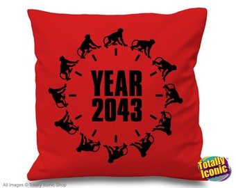 12 Monkeys - 2043 SyFy TV Series  - James Cole-Cassie Pillow/Cushion Cover Katerina Jones/Jose Ramse/Jennifer Goines/The Witness/Primary