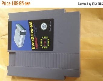 Ultimate unboxed edition grey shell Everdrive nes n8 free region plus 8 gig  sd card China version