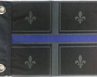 Quebec blue line flag