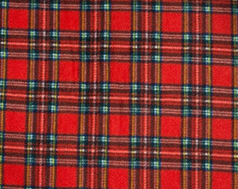Tartan Fleece (Sold per 1/2 Metre)