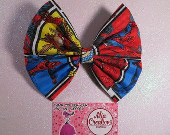 Spidey Feangirl Bow