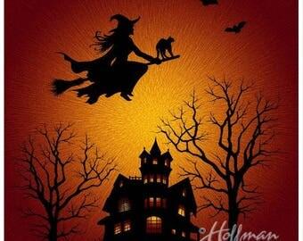 Hoffman Fabrics Halloween Panel - Digital Print
