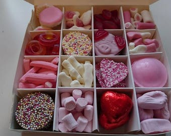 Valentine's Sweet and Chocolate Filled Gift Box