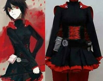 Ruby rose cosplay outfit