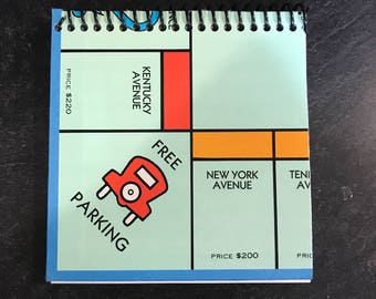 Monopoly Game Board Journal