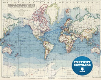 Digital old world map printable download vintage world map digital old world map printable download vintage world map printable map large world gumiabroncs Image collections